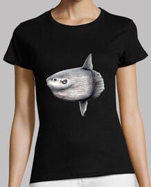 femme  t-shirt  arlequin