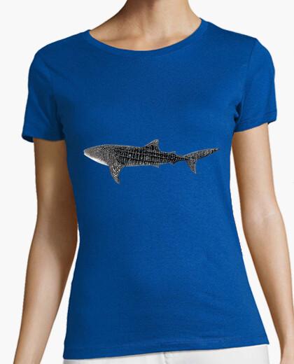 de Shirt mujer Whale Shark Camiseta jMGLqSzUVp