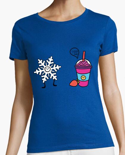 Tee-shirt femme froide est ici