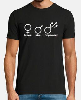 Femme Homme Programmeur