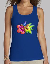 femmes shirt explosion de couleurs