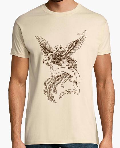 Camiseta Fénix blanco