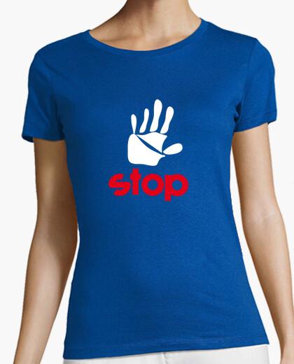 T-shirt fermarsi