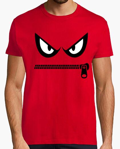 Tee-shirt fermeture éclair en colère
