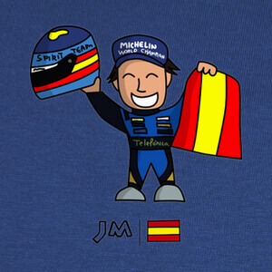 Fernando Alonso - Formula 1 - Renault T-shirts