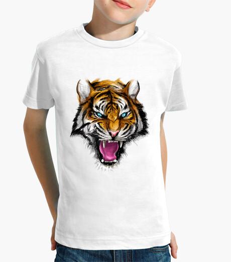 Ferocious tiger children's clothes