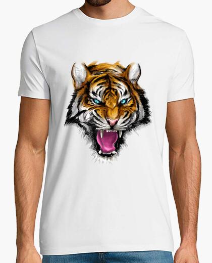 Camiseta feroz tigre