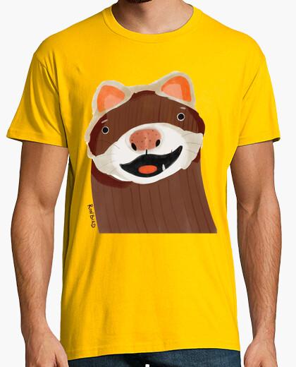 Camiseta Ferret cartoon - hurón