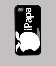 fête des pères - ipapa (blanc sur noir)