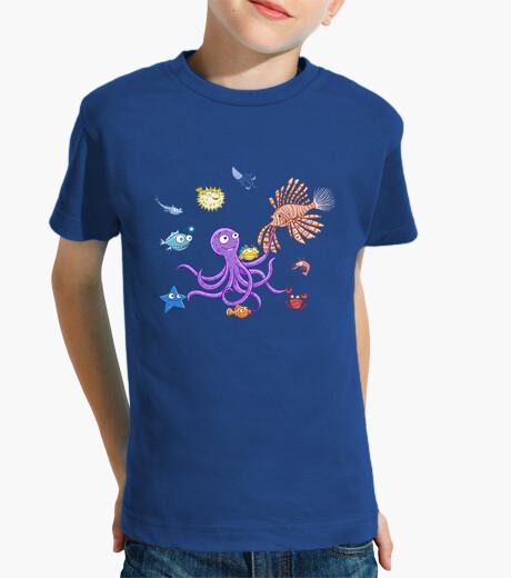 Vêtements enfant fête octopus