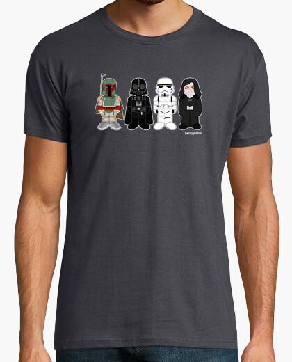 Camiseta Fett, Vader, Trooper y el emperador