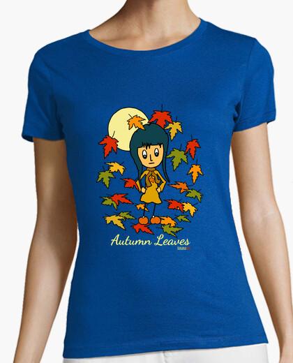 Tee-shirt feuilles d'automne
