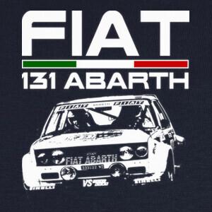 Camisetas FIAT 131 ABARTH