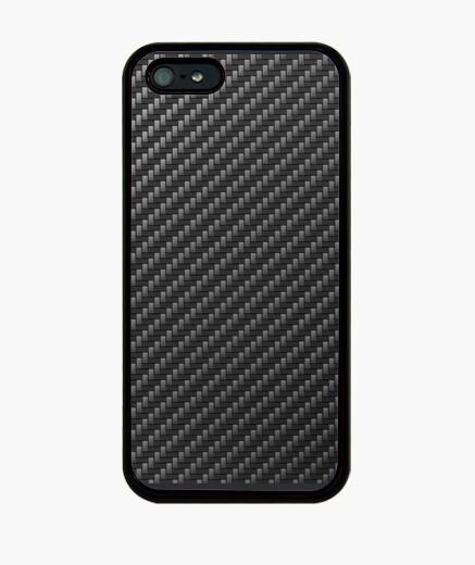 Funda iPhone Fibra de Carbono