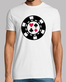 fichas de póquer del casino