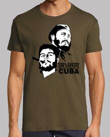 Fidel Castro et Che Guevara - Révolutionnaires de la Cuba