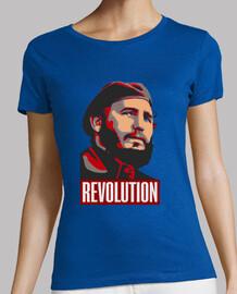 fidel revolution red