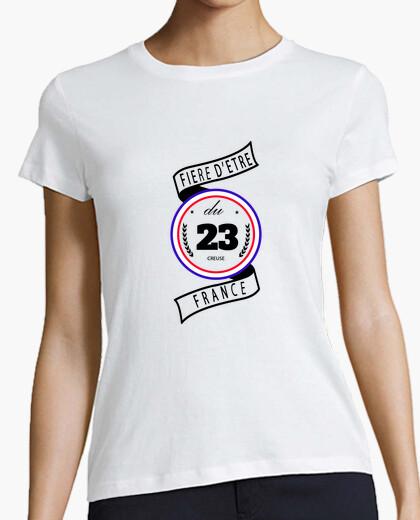 Tee-shirt Fière d'être du 23