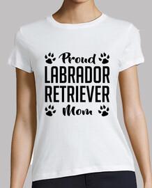 fier maman labrador retriever