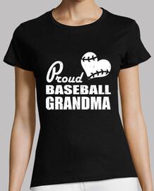 fière grand-mère de baseball