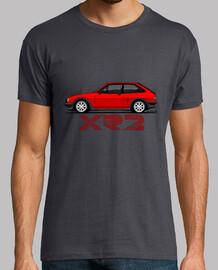 Fiesta XR2 rojo