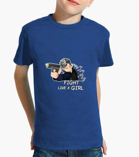 Ropa infantil Fight like a Girl