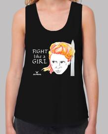 Fight like a girl. Feminista
