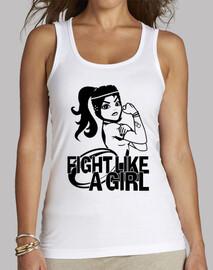 Fight like a Girl Tirantes
