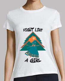 Fight like Merida