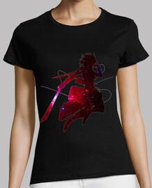 Fight to protect famiy Mikasa - Shingeki