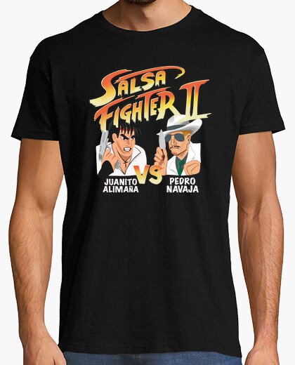 Fighter sauce t-shirt