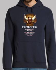 FIGHTER sudadera