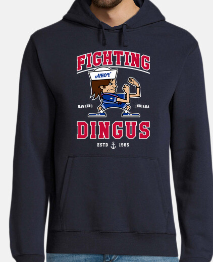 fighting dingus hoodie