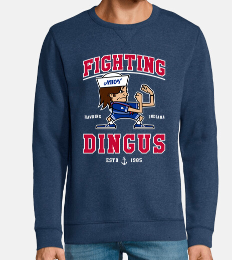 fighting dingus sweatshirt
