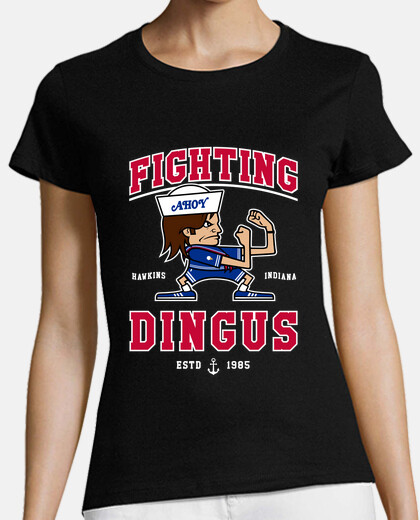 fighting dingus womens t-shirt
