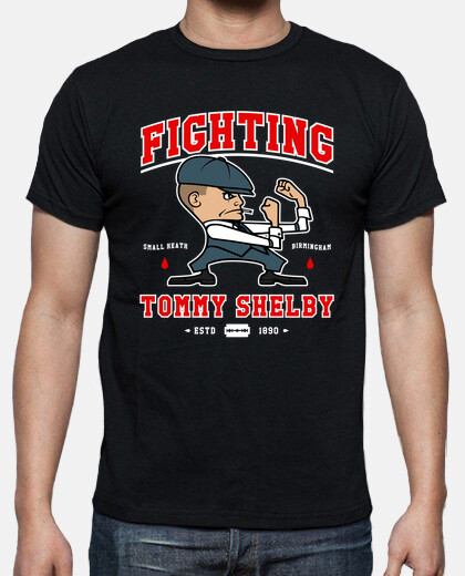 fighting shelby mens t-shirt
