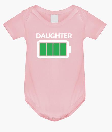 Abbigliamento bambino figlia full bat tery