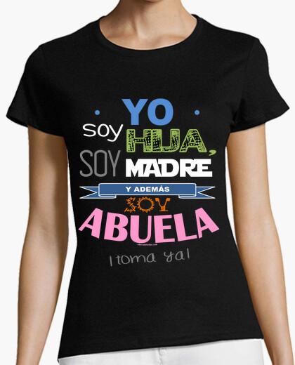 T-shirt figlia, mamma e nonna