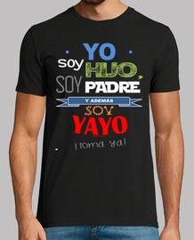 figlio, padre e yayo