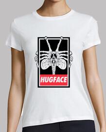 fille chemise hugface