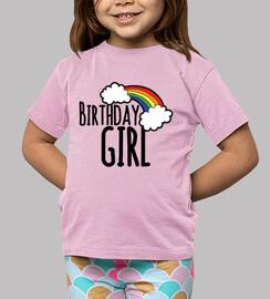 fille dont c'est l'anniversaire
