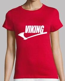 fille t-shirt logo viking