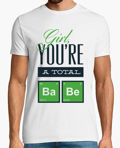 Tee-shirt fille tu es un bébé total