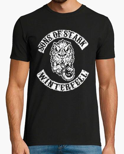 Tee-shirt fils de stark