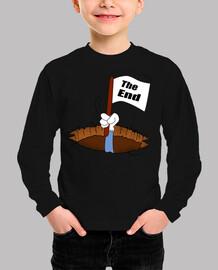 final de caricatura-camisetas divertida