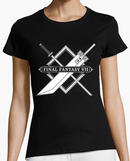 Tee-shirt final fantasy vii - cloud vs sephiroth