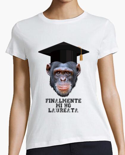 T-shirt Finalmente mi ho Laureata