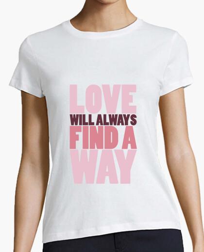 Camiseta Find a way