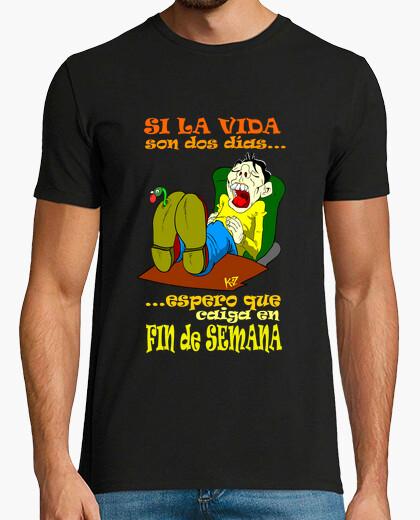 Camiseta finde