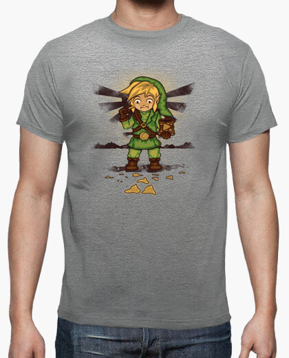 Finding triforce's fragments t-shirt